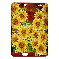 Sunflowers Flowers Abstract Amazon Kindle Fire HD (2013) Hardshell Case