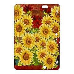Sunflowers Flowers Abstract Kindle Fire Hdx 8 9  Hardshell Case