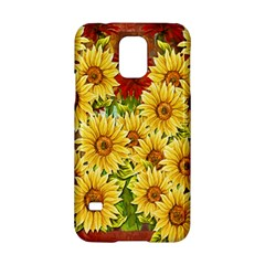 Sunflowers Flowers Abstract Samsung Galaxy S5 Hardshell Case