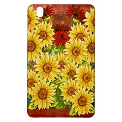 Sunflowers Flowers Abstract Samsung Galaxy Tab Pro 8 4 Hardshell Case