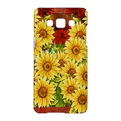 Sunflowers Flowers Abstract Samsung Galaxy A5 Hardshell Case