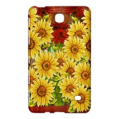 Sunflowers Flowers Abstract Samsung Galaxy Tab 4 (7 ) Hardshell Case
