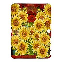 Sunflowers Flowers Abstract Samsung Galaxy Tab 4 (10.1 ) Hardshell Case
