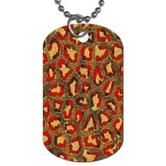 Stylized Background For Scrapbooking Or Other Dog Tag (two Sides)