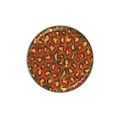 Stylized Background For Scrapbooking Or Other Hat Clip Ball Marker