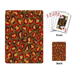 Stylized Background For Scrapbooking Or Other Playing Card
