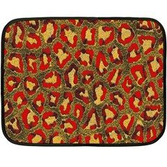 Stylized Background For Scrapbooking Or Other Double Sided Fleece Blanket (Mini)