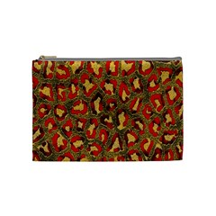 Stylized Background For Scrapbooking Or Other Cosmetic Bag (medium)