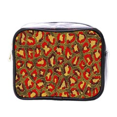 Stylized Background For Scrapbooking Or Other Mini Toiletries Bags