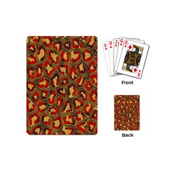 Stylized Background For Scrapbooking Or Other Playing Cards (mini)