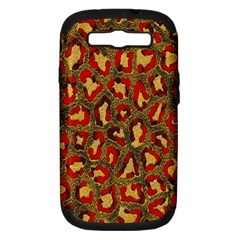 Stylized Background For Scrapbooking Or Other Samsung Galaxy S Iii Hardshell Case (pc+silicone)