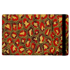 Stylized Background For Scrapbooking Or Other Apple Ipad 3/4 Flip Case