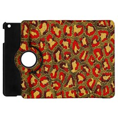 Stylized Background For Scrapbooking Or Other Apple Ipad Mini Flip 360 Case