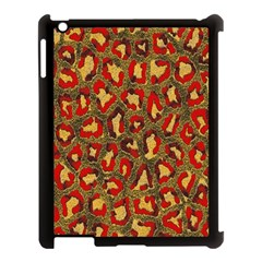 Stylized Background For Scrapbooking Or Other Apple Ipad 3/4 Case (black)