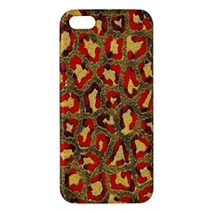 Stylized Background For Scrapbooking Or Other Apple Iphone 5 Premium Hardshell Case
