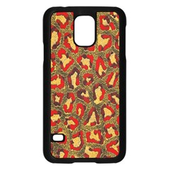 Stylized Background For Scrapbooking Or Other Samsung Galaxy S5 Case (black)