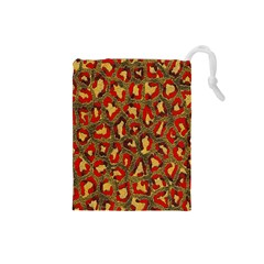 Stylized Background For Scrapbooking Or Other Drawstring Pouches (Small)