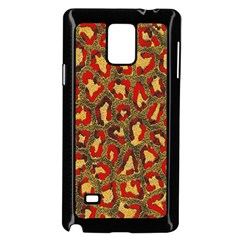 Stylized Background For Scrapbooking Or Other Samsung Galaxy Note 4 Case (Black)
