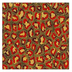Stylized Background For Scrapbooking Or Other Large Satin Scarf (Square)