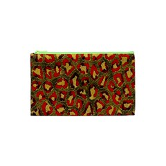 Stylized Background For Scrapbooking Or Other Cosmetic Bag (XS)