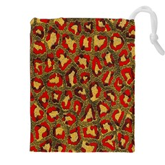 Stylized Background For Scrapbooking Or Other Drawstring Pouches (xxl)