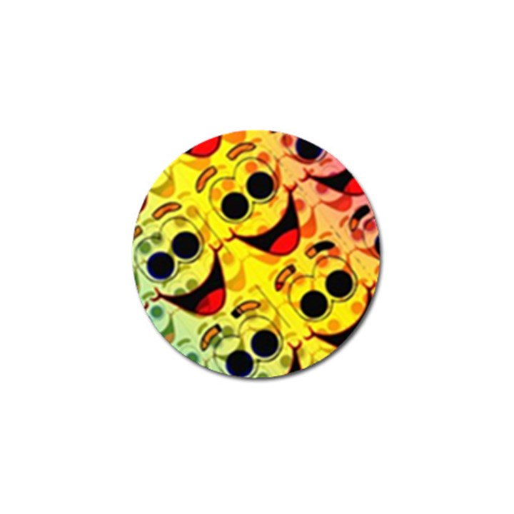 Abstract Background Backdrop Design Golf Ball Marker