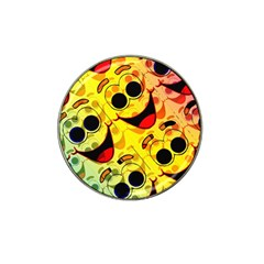 Abstract Background Backdrop Design Hat Clip Ball Marker (10 Pack)