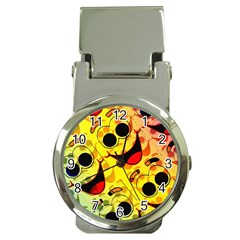 Abstract Background Backdrop Design Money Clip Watches