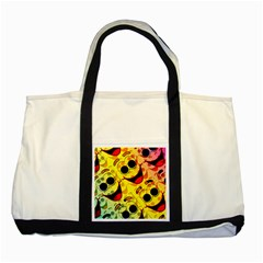 Abstract Background Backdrop Design Two Tone Tote Bag