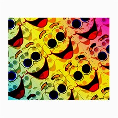 Abstract Background Backdrop Design Small Glasses Cloth (2 Side)
