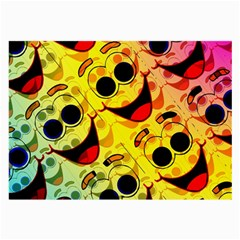 Abstract Background Backdrop Design Large Glasses Cloth (2 Side)