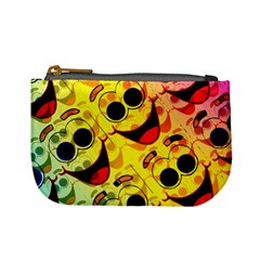 Abstract Background Backdrop Design Mini Coin Purses