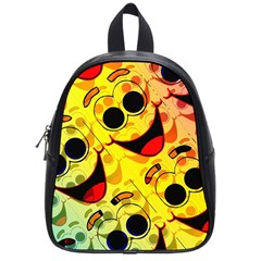 Abstract Background Backdrop Design School Bags (small)
