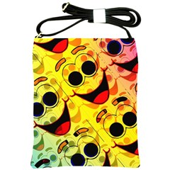 Abstract Background Backdrop Design Shoulder Sling Bags