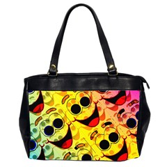 Abstract Background Backdrop Design Office Handbags (2 Sides)