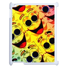 Abstract Background Backdrop Design Apple Ipad 2 Case (white)
