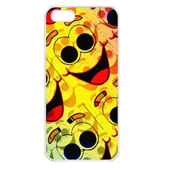 Abstract Background Backdrop Design Apple Iphone 5 Seamless Case (white)