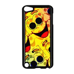 Abstract Background Backdrop Design Apple Ipod Touch 5 Case (black)