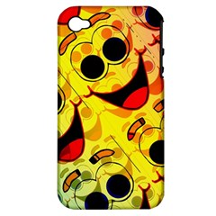 Abstract Background Backdrop Design Apple Iphone 4/4s Hardshell Case (pc+silicone)