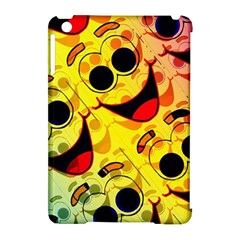 Abstract Background Backdrop Design Apple Ipad Mini Hardshell Case (compatible With Smart Cover)