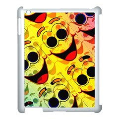 Abstract Background Backdrop Design Apple Ipad 3/4 Case (white)