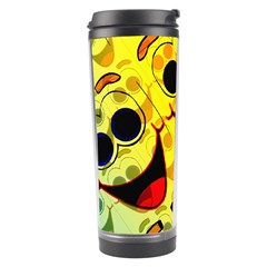 Abstract Background Backdrop Design Travel Tumbler