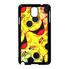 Abstract Background Backdrop Design Samsung Galaxy Note 3 Neo Hardshell Case (black)