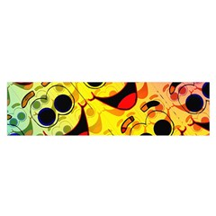Abstract Background Backdrop Design Satin Scarf (oblong)