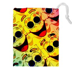 Abstract Background Backdrop Design Drawstring Pouches (xxl)