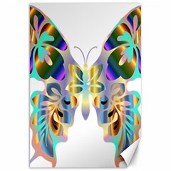 Abstract Animal Art Butterfly Canvas 20  X 30