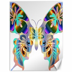Abstract Animal Art Butterfly Canvas 36  X 48