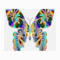Abstract Animal Art Butterfly Small Glasses Cloth (2 Side)