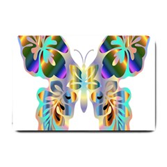 Abstract Animal Art Butterfly Small Doormat