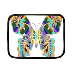 Abstract Animal Art Butterfly Netbook Case (small)